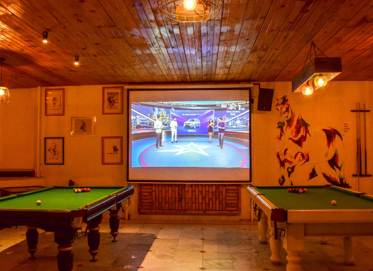 Sports bar in Udaipur