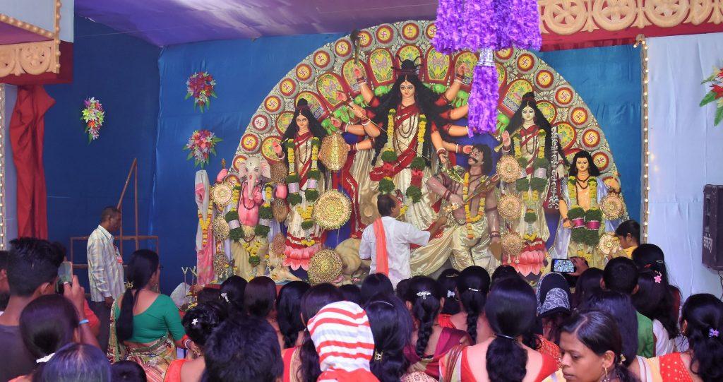 Khadki . Durga Pujo Pandals in Pune