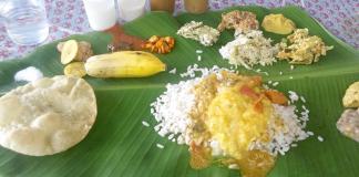 Onam Sadya in Pune