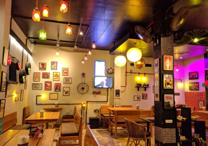 aesthetic cafes in Lucknow