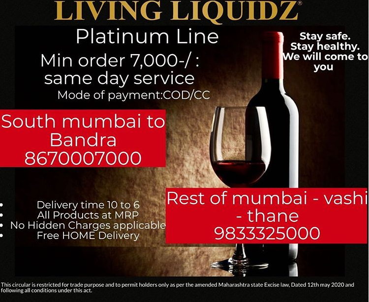 home delivery of liquor in Mumbai