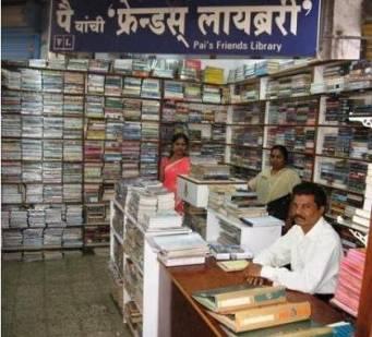 delivering books in Mumbai