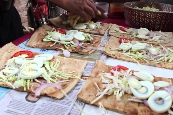 Delhi's Afghani food street