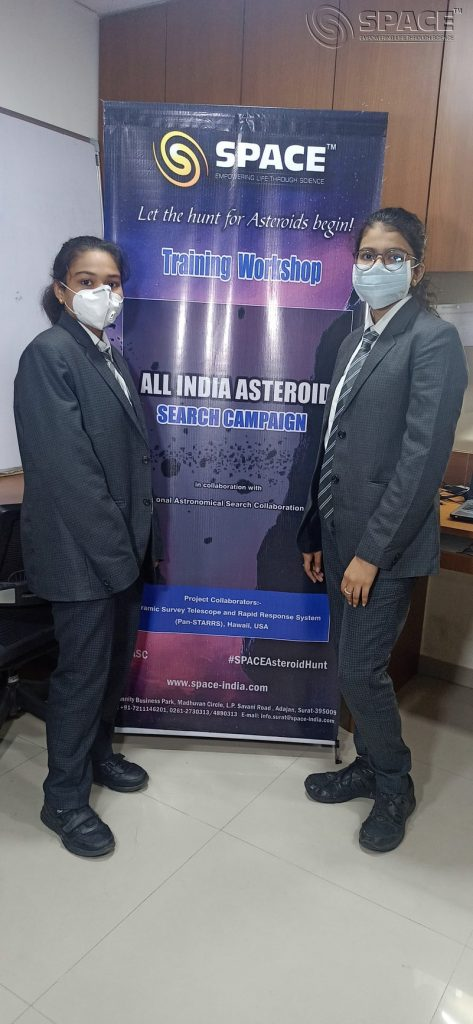 Surat girls discovered an asteroid