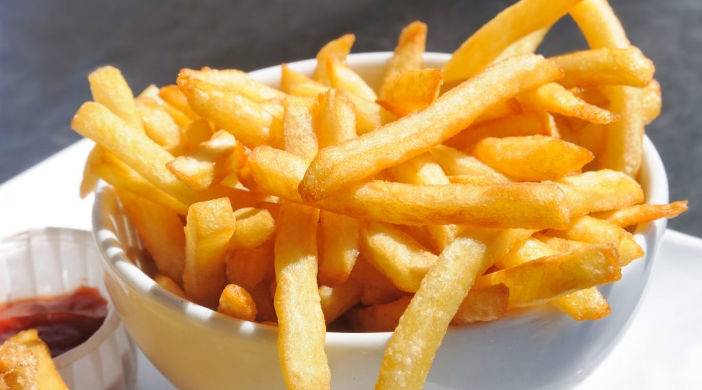 letter to french fries