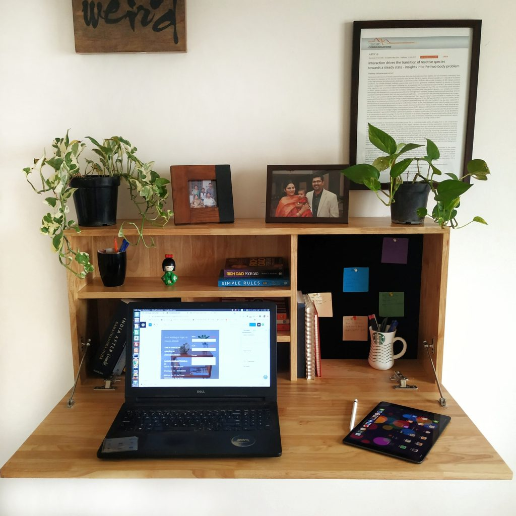 home office set up
