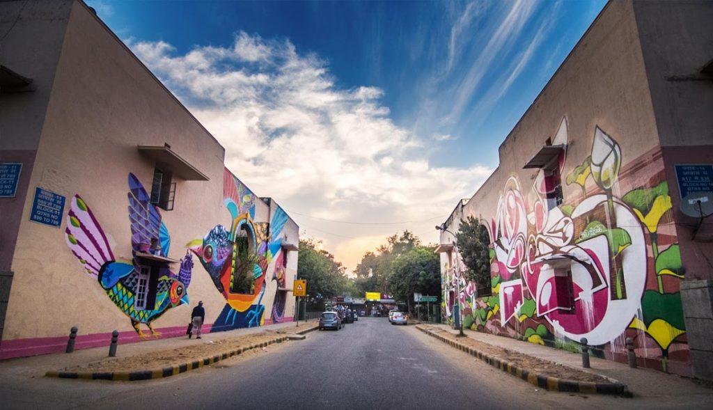 Hangout spots in Delhi