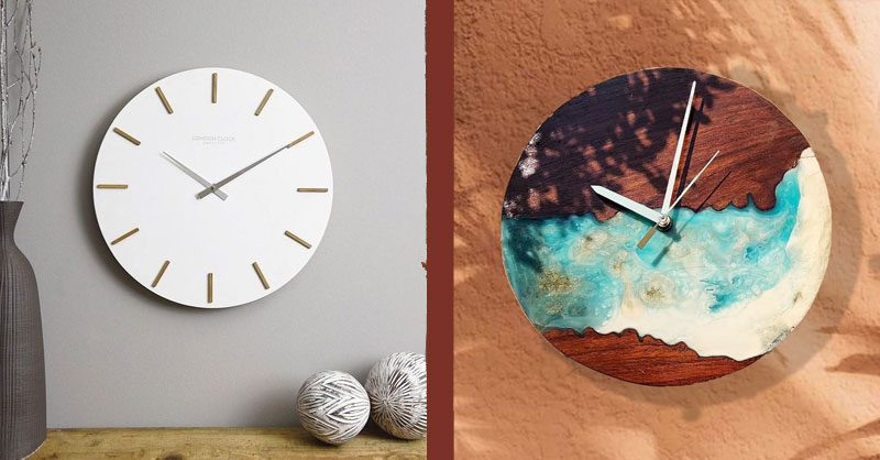 Revamp Your Walls Buy These Aesthetic Wall Clocks Online Local Samosa Local Brands Food Shopping Lifestyle Recommendations