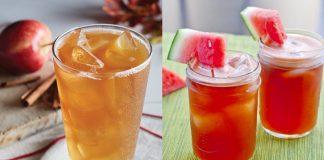 flavoured iced tea