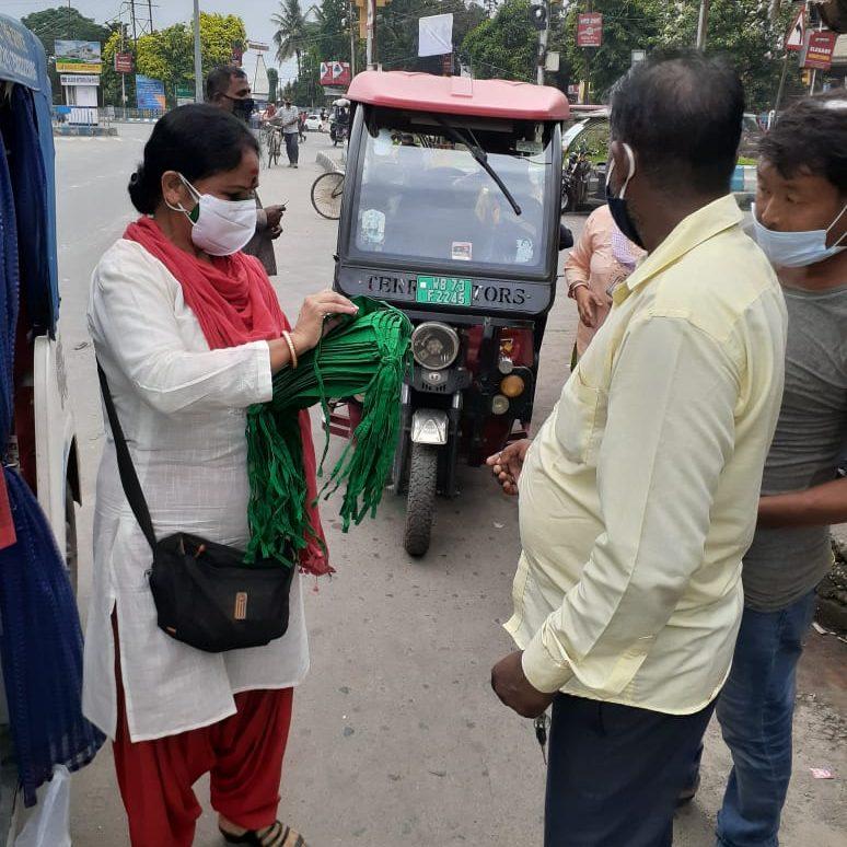 Siliguri's first women E-Rickshaw driver