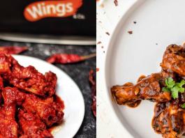spiciest chicken wings in India